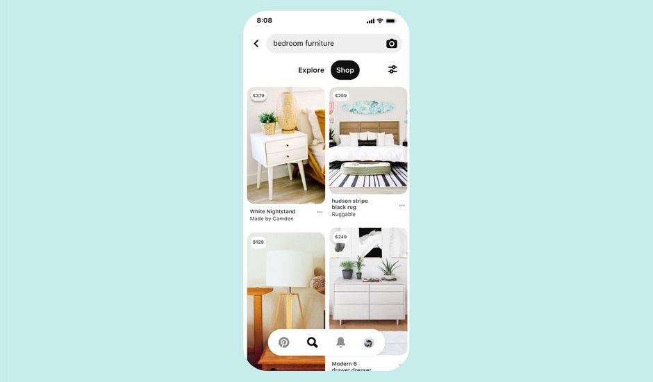 Pinterest optimise et facilite le shopping sur sa plateforme